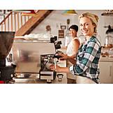 Kaffee, Café, Kaffeezubereitung, Barista