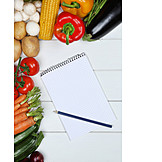 Vegetable, Food, Shopping List