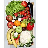 Gesunde Ernährung, Obst, Gemüse, Gewürze & Zutaten