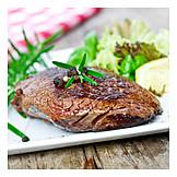 Steak, Rumpsteak, Meat Dish