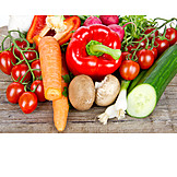 Gemüse, Gewürze & Zutaten, Rohkost