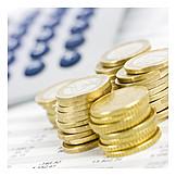 Money, Euro, Economy