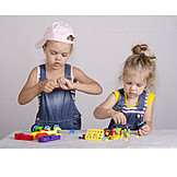 Girl, Fun & Games, Building Activity