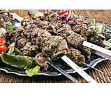 Oriental Cuisine, Kebab, Lamb