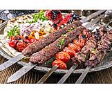 Specialty, Meat Dish, Lamb, Adana Kebab