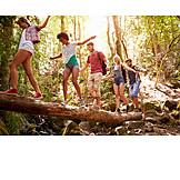 Hiking, Excursion, Friends, Balance