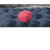 Individualität & Einzigartigkeit, Regenschirm, Regenwetter