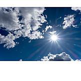 Sky, Cloudscape, Sun, Sky Only
