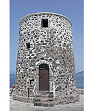 Windmill, Greece, Stone