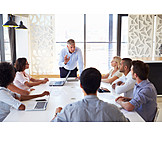 Businessman, Business, Meeting, Training