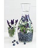 Blaubeeren, Lavendel, Limonade, Sommergetränk