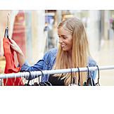 Young Woman, Purchase & Shopping, Shopping, Shopping
