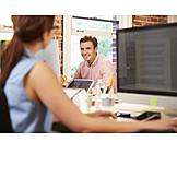 Office & Workplace, Flirt, Colleague