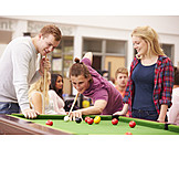 Leisure & Entertainment, Friends, Pool Game