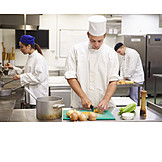 Gastronomy, Cooking, Kitchen, Cutting, Cook