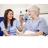 Healthcare & Medicine, Hospital, Nurse, Patient