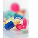 Medikament, Arznei, Kapsel