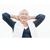 Seniorin, Sorglos & Entspannt