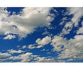 Cloudscape, Sky Only, Cumulus