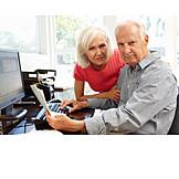 Probleme, Rente, Seniorenpaar