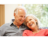 Happy, Togetherness, Older Couple