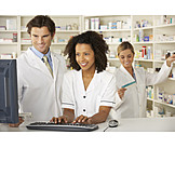 Medicaments, Apprentice, Pharmacy, Pharmacist, Pharmacist