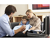 Child, Sick, Examination, Home Visit