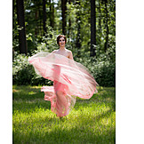 Woman, Dress, Evening gown