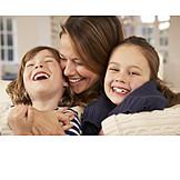 Kind, Mutter, Spaß & Vergnügen