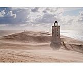 Lighthouse, Rubjerg knude, Dune