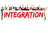 Integration, Multicultural, Immigration