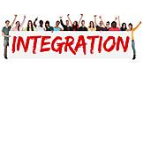 Integration, Multicultural, Immigration