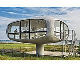 Architecture, Binz, Standesamt, Lifeguard tower