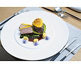 Meat Dish, Gourmet, Veal Fillet