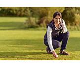 Woman, Golf, Golfer