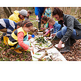 Children Group, Education, Nature Exploration
