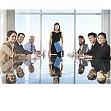 Business, Meeting, Team, Chefin