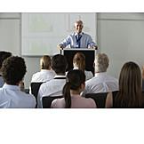 Lecture, Seminar, Presentation, Professor