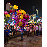 Nachtleben, Vietnam, Ho-chi-minh-stadt