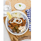 Grillspieß, Fleischgericht, Traditionelle Küche