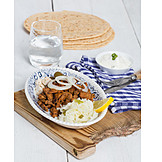 Bbq Skewer, Meat Dish, Gyros, Traditional Cuisine