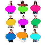 Survey, Group, Speech Bubble