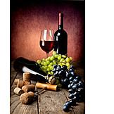 Genuss & Konsum, Champagner, Rotwein