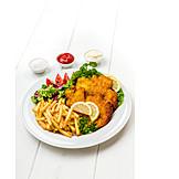Meat, Cutlet, Wiener Schnitzel, Veal Cutlet