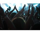 Nachtleben, Konzert, Publikum