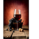 Indulgence & Consumption, Wine Glass, Red Wine