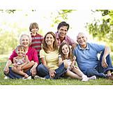 Sorglos & Entspannt, Familie, Generationen, Familienportrait
