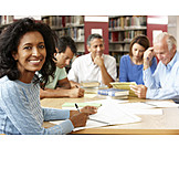 Meeting & Conversation, Library, College, Training