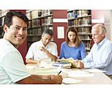 Besprechung & Unterhaltung, Bibliothek, Hochschule, Fortbildung