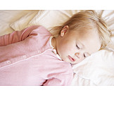Toddler, Girl, Sleeping